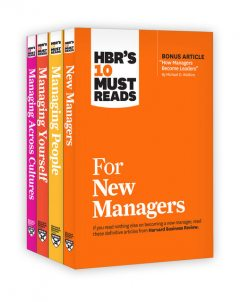 HBR's 10 Must Reads for New Managers Collection, Peter Drucker, Renee Mauborgne, Michael Watkins, Harvard Business Review, W. Chan Kim