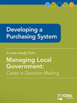 Developing a Purchasing System, James M.Banovetz, Keith A.Schildt