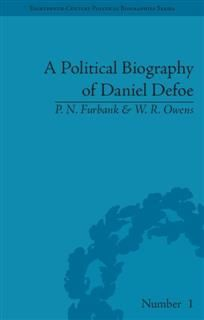 Political Biography of Daniel Defoe, P.N. Furbank