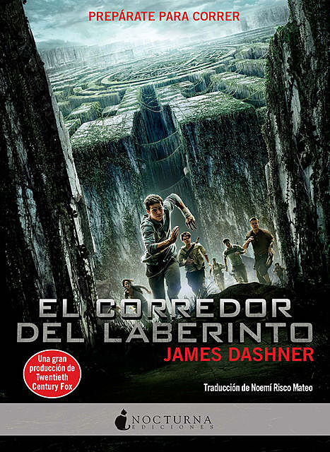 El corredor del laberinto, James Dashner