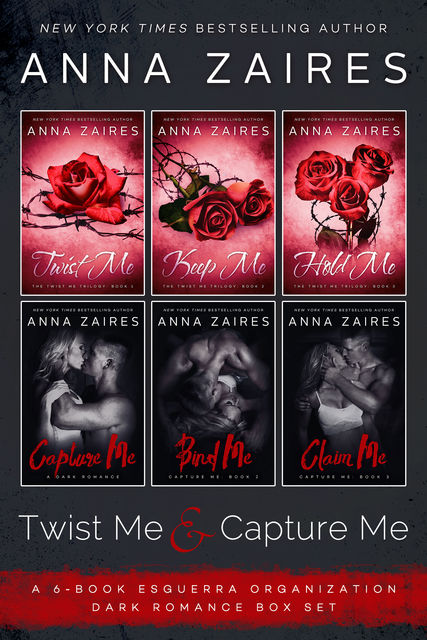 Twist Me & Capture Me, Anna Zaires