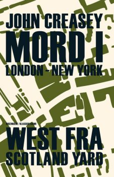 Mord i London – New York, John Creasey