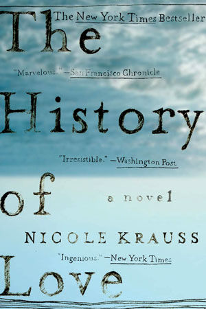 THE HISTORY OF LOVE, Nicole Krauss