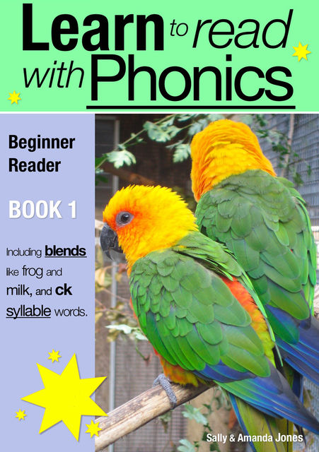 Learn to Read with Phonics – Book 1, Sally Jones
