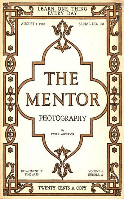 The Mentor: Photography, Paul Anderson