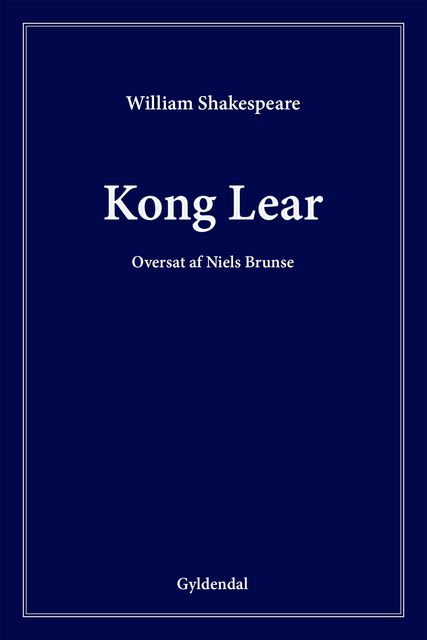 Kong Lear, William Shakespeare