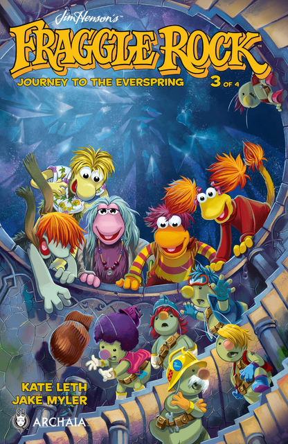 Jim Henson's Fraggle Rock: Journey to the Everspring #3, Kate Leth
