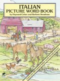 Italian Picture Word Book, Barbara Steadman, Hayward Cirker