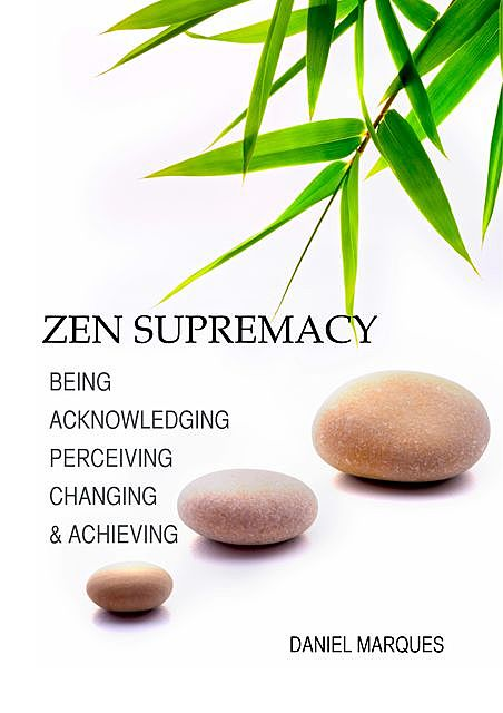Zen Supremacy: Being, Acknowledging, Perceiving, Changing and Achieving, Daniel Marques