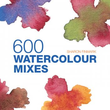 600 Watercolour Mixes, Sharon Finmark