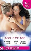 Back in His Bed, Kimberly Lang, Heidi Rice, Aimee Carson
