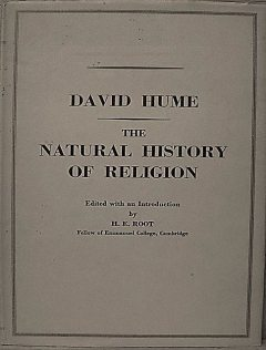 The Natural History of Religion, David Hume, Luka Reid