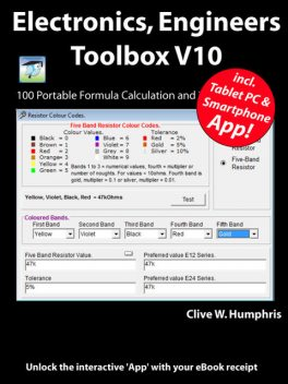 Electronics Engineers Toolbox V10, Clive W.Humphris
