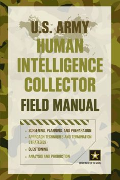 U.S. Army Human Intelligence Collector Field Manual, DEPARTMENT OF THE ARMY