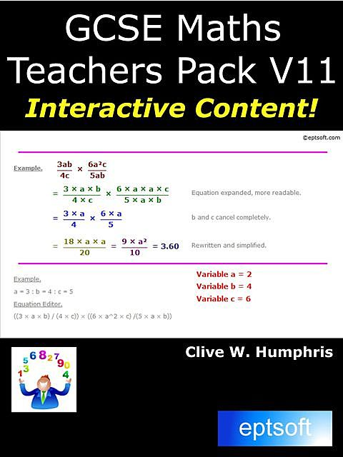 Learn GCSE Maths on Your Smartphone, Clive W.Humphris