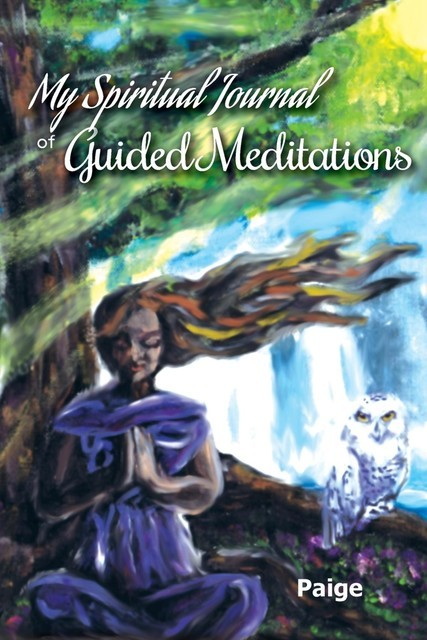 My Spiritual Journal of Guided Meditations, Paige Land