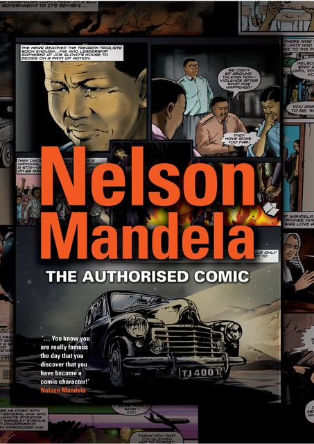 Nelson Mandela – The Authorised Comic Book, Nelson Mandela