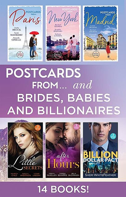 Postcards From…Verses Brides Babies And Billionaires, Chantelle Shaw, Lynne Graham, Maisey Yates, Jennifer Hayward, Lucy Gordon, Rachael Thomas, Sarah Mayberry, Amanda Cinelli, Stefanie London, Andie Brock