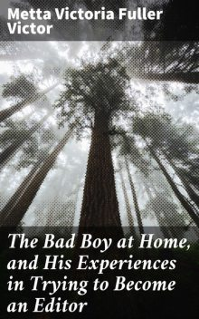 The Bad Boy at Home, and His Experiences in Trying to Become an Editor, Metta Victoria Fuller Victor