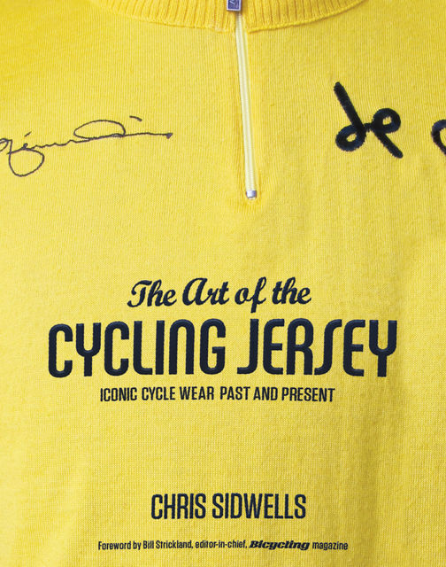 The Art of the Cycling Jersey, Chris Sidwells
