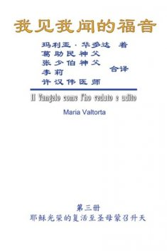 The Gospel As Revealed to Me (Vol 3) – Simplified Chinese Edition, Hon-Wai Hui, Maria Valtorta, 許漢偉