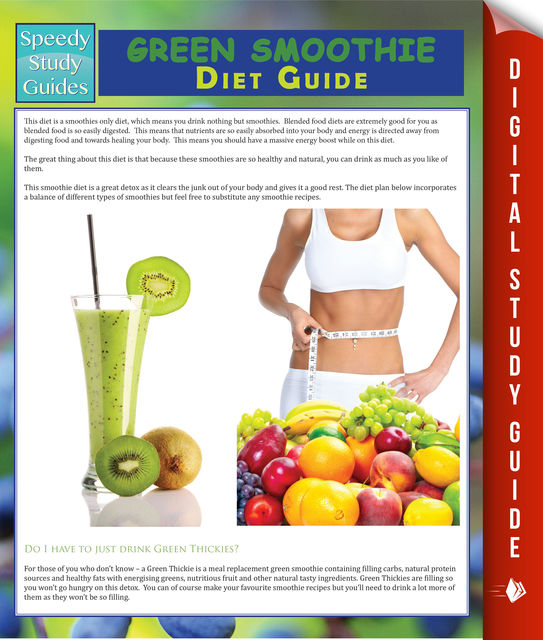 Green Smoothie Diet Guide (Speedy Study Guide), Speedy Publishing