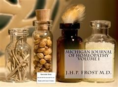 Michigan Journel of Homeopathy, Frost