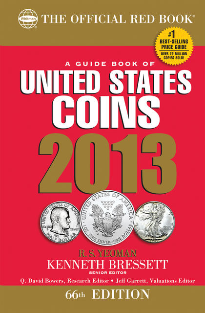 A Guide Book of United States Coins 2013, R.S.Yeoman