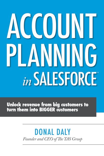Account Planning in Salesforce, Donal Daly