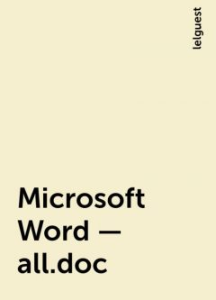 Microsoft Word – all.doc, lelguest