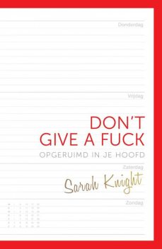 Don't give a fuck, Sarah Knight