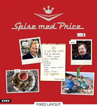 Spise med Price – sæson 2, Adam Price, James Price