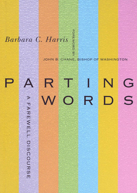 Parting Words, Barbara C. Harris