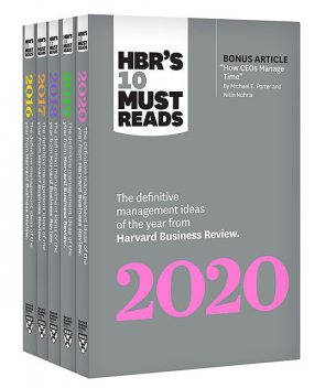 5 Years of Must Reads from HBR: 2020 Edition (5 Books), Harvard Business Review, Joan C.Williams, Marcus Buckingham, Adam Grant, Michael Porter