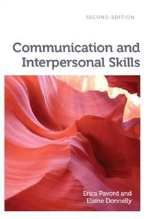 Communication and Interpersonal Skills, Erica Pavord