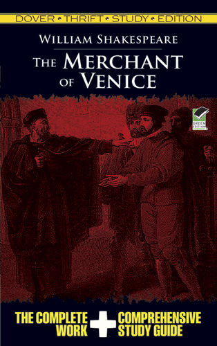 The Merchant of Venice Thrift Study Edition, William Shakespeare