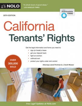 California Tenants' Rights, David Brown, Janet Portman