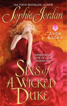 Sins of a Wicked Duke, Sophie Jordan