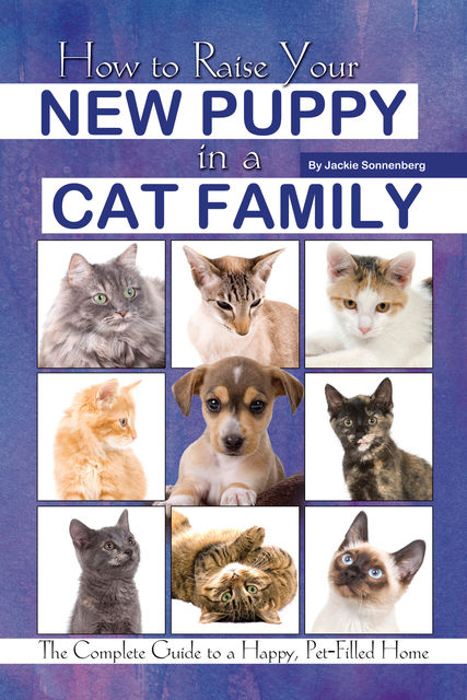 How to Raise Your New Puppy in a Cat Family, Jackie Sonnenberg