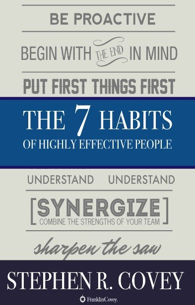 The 7 Habits of Highly Effective People, Stephen Covey