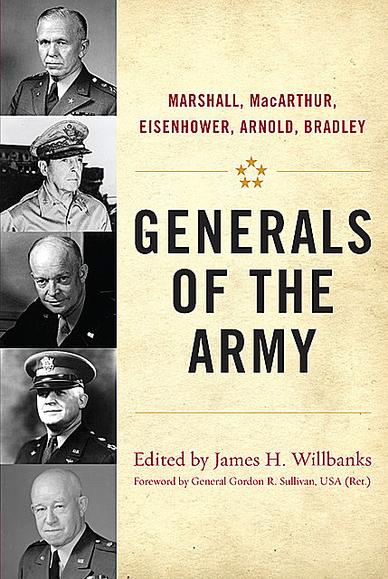 Generals of the Army, James H.Willbanks