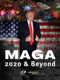 MAGA 2020 and Beyond, John C.Wright, Justin Robinson, Brad Torgersen, Scott Bell, Alfred Genesson, Arlan Andrews Sr., David Harr, Dawn Witzke, Elaine Arias, Ivan Throne, Jon Del Arroz, Marina Fontaine, Milo Yiannopolos, Molly Pitcher, Monalisa Foster, P.A. Piatt, Tamara Wilhi