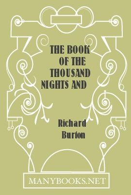 The Book of the Thousand Nights and a Night, vol 9, Richard Burton