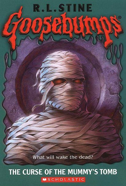 Goosebumps 05 - The Curse of the Mummy's Tomb, R.L.Stine