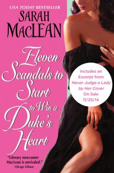 Eleven Scandals to Start to Win a Duke's Heart, Sarah Maclean