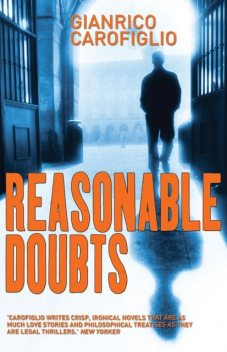 Reasonable Doubts, Gianrico Carofiglio