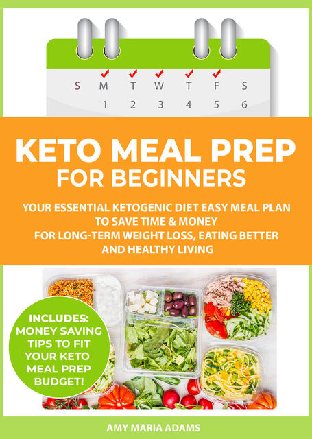 Keto Meal Prep for Beginners, Amy Adams