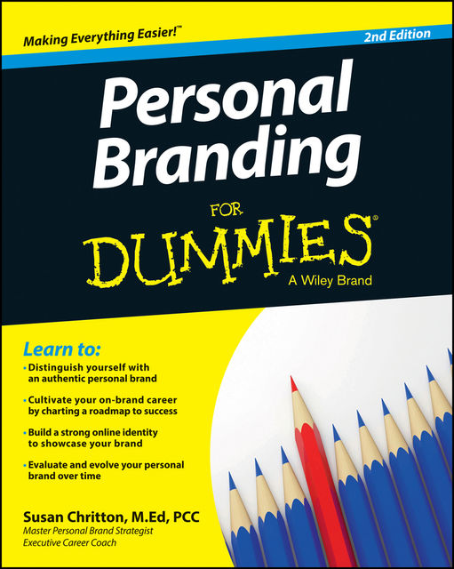 Personal Branding For Dummies, Susan Chritton