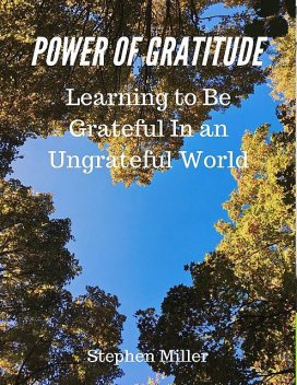 Power of Gratitude: Learning to Be Grateful In an Ungrateful World, Stephen Miller