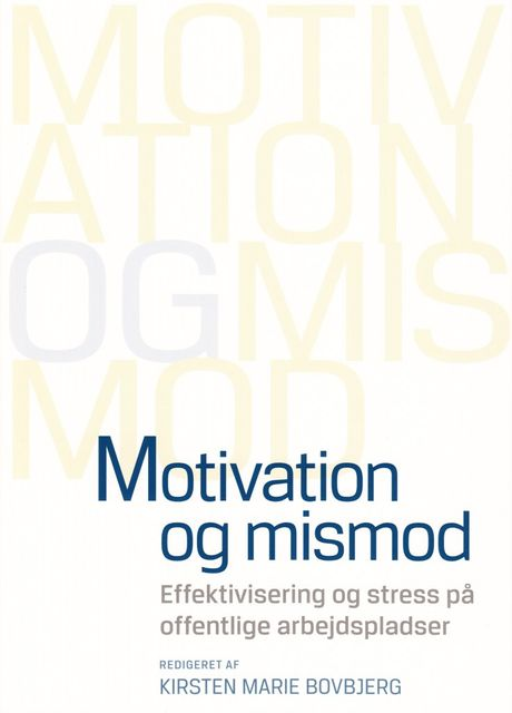 Motivation og mismod, n a